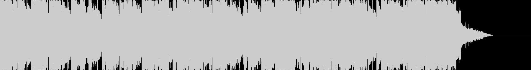 POPなBGMの未再生の波形