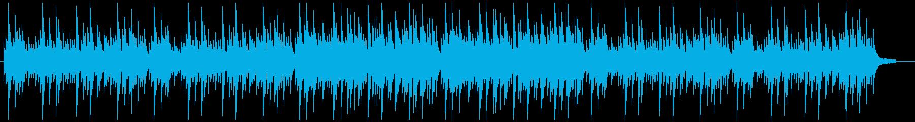 奇妙な緊張感:ピアノソロ劇伴(短めの再生済みの波形
