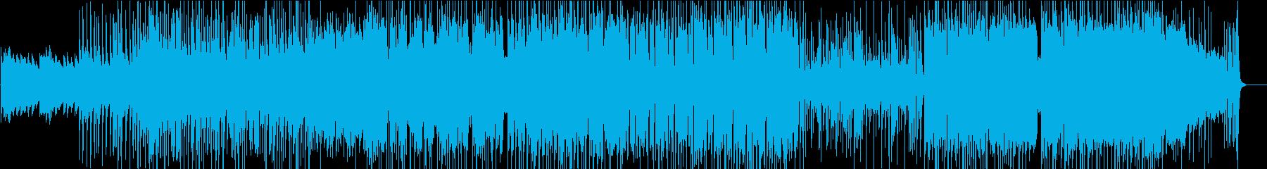 変拍子・ポリリズムを使ったエレクトロの再生済みの波形