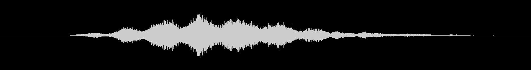 特撮 ホログラム表示04の未再生の波形