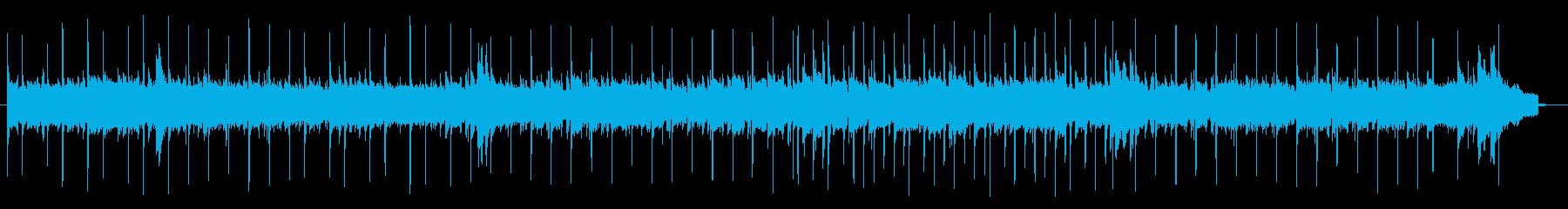 切ない雰囲気のポップスバラードBGMの再生済みの波形