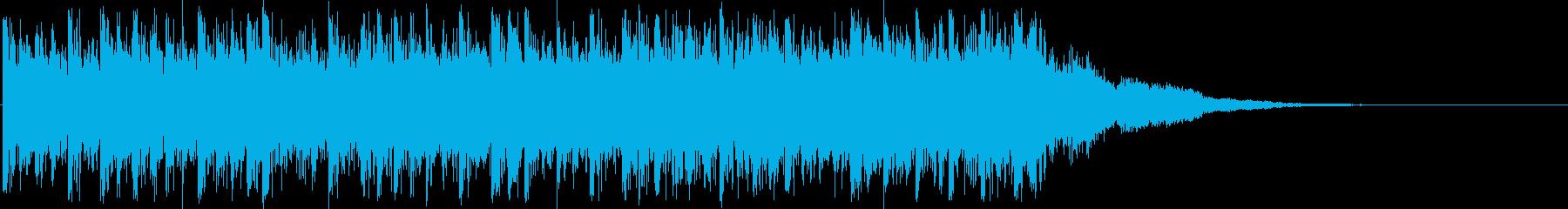 緊迫緊迫の疾走トランス アイキャッチの再生済みの波形