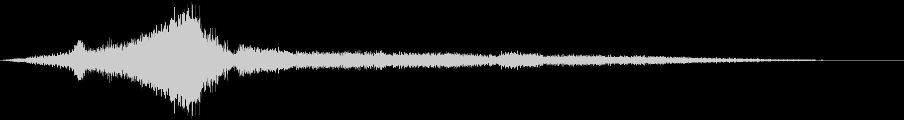 レッカー車:低速アクセルの未再生の波形
