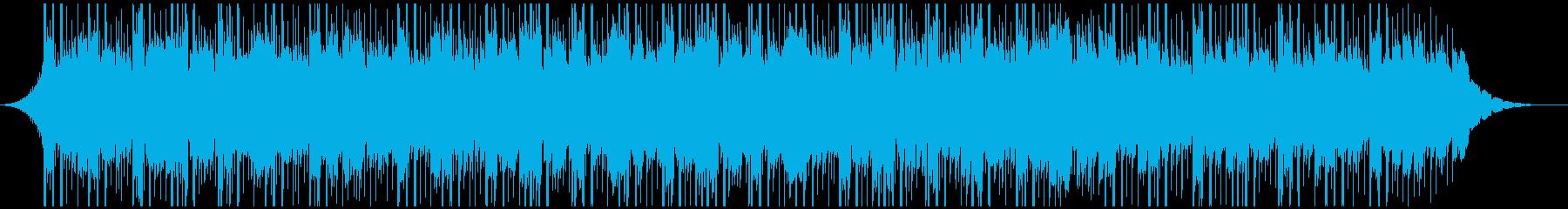 テクノロジーミュージック(ミディアム)の再生済みの波形