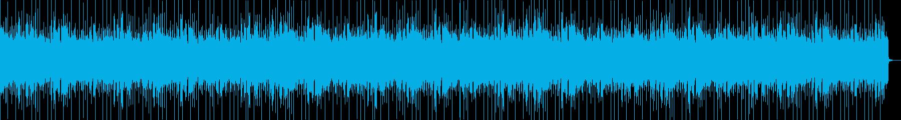 シンセベースが特徴のEDMの再生済みの波形