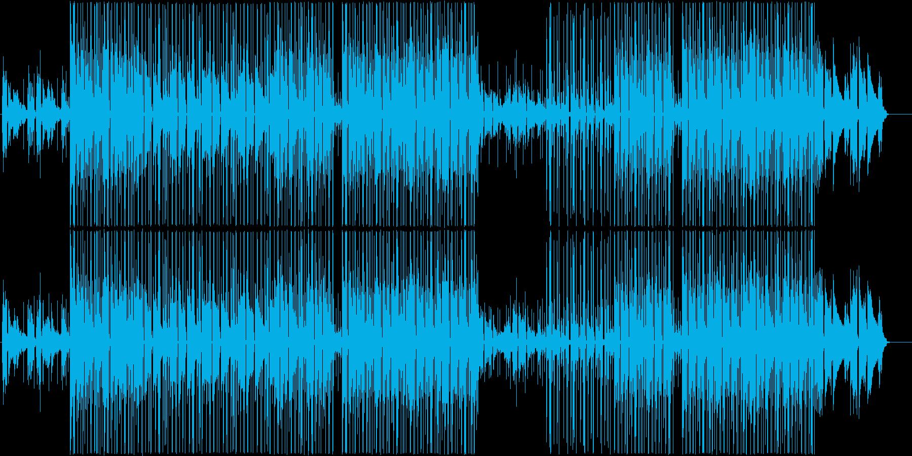チルアウト、切ないR&B、トラップポップの再生済みの波形
