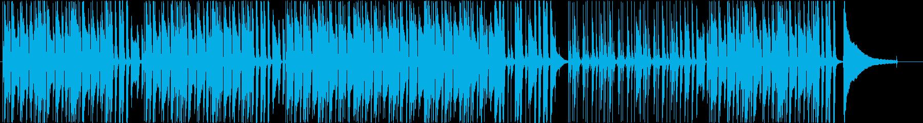 かわいくて楽しいほのぼのした日常曲の再生済みの波形