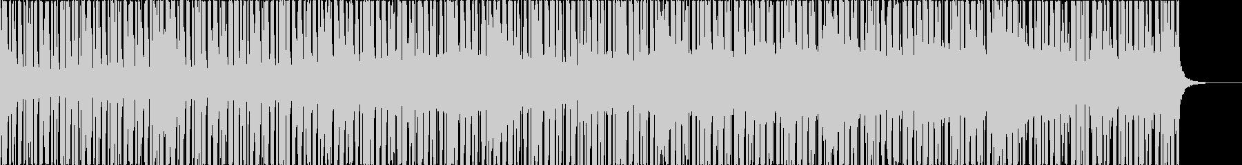 切ない雰囲気のエレクトロ楽曲、2の未再生の波形