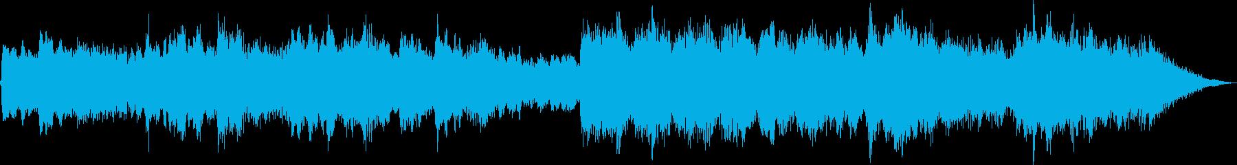 アコギとシンセの悲しく暗いBGMの再生済みの波形