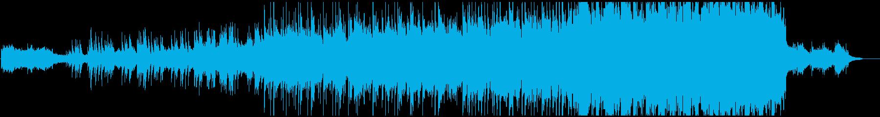 綺麗なピアノメロディの感動的なバラードの再生済みの波形