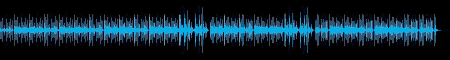 お昼寝!のんびりするアコースティック曲の再生済みの波形