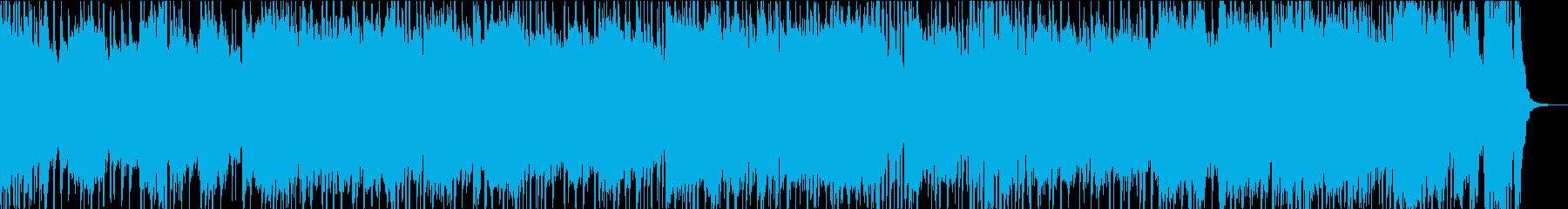 グルーヴィーなギターメロディとカン...の再生済みの波形