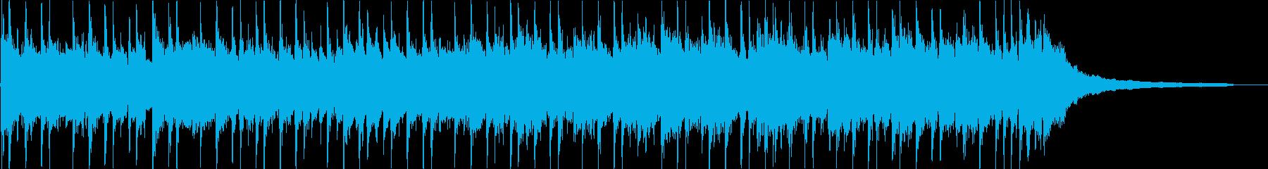 Upbeat vintage pop's reproduced waveform