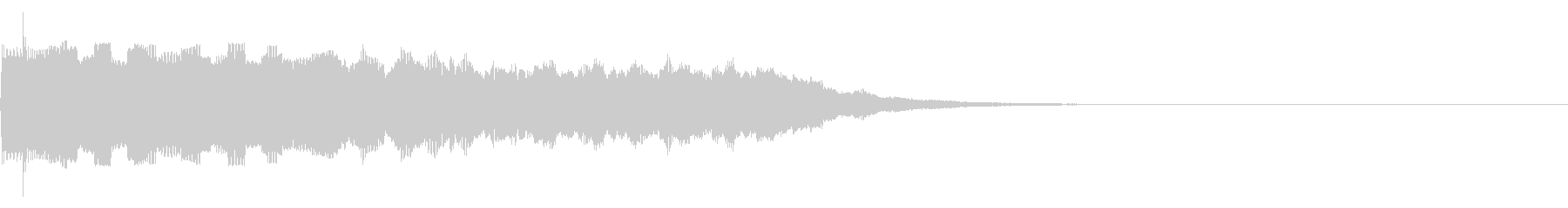 【SE 効果音】ピロピロの未再生の波形