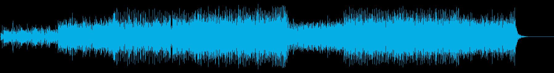 陰鬱な精神世界のクールなマイナーテクノの再生済みの波形