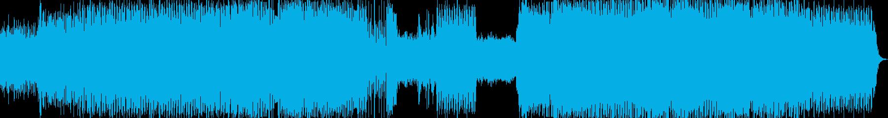 クラブ系エレクトロの再生済みの波形