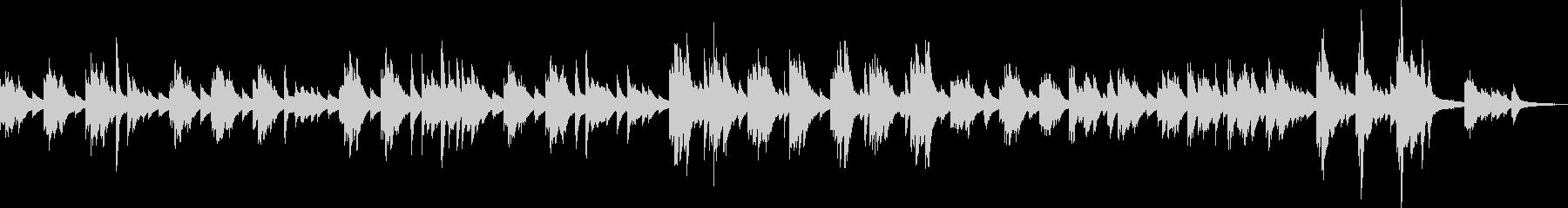 Piano piece of regret / confession's unreproduced waveform