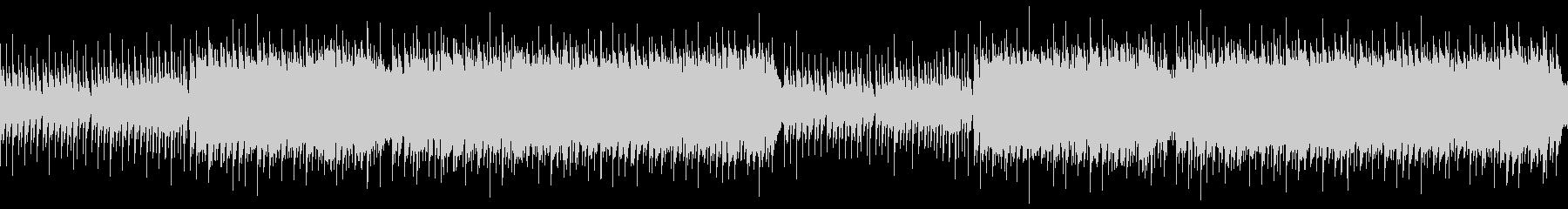 癒しヒーリングミュージック(ループ)の未再生の波形