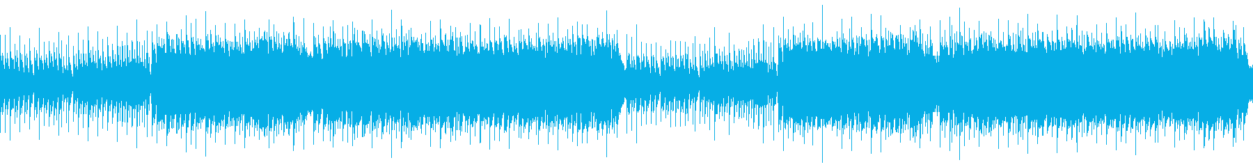 癒しヒーリングミュージック(ループ)の再生済みの波形