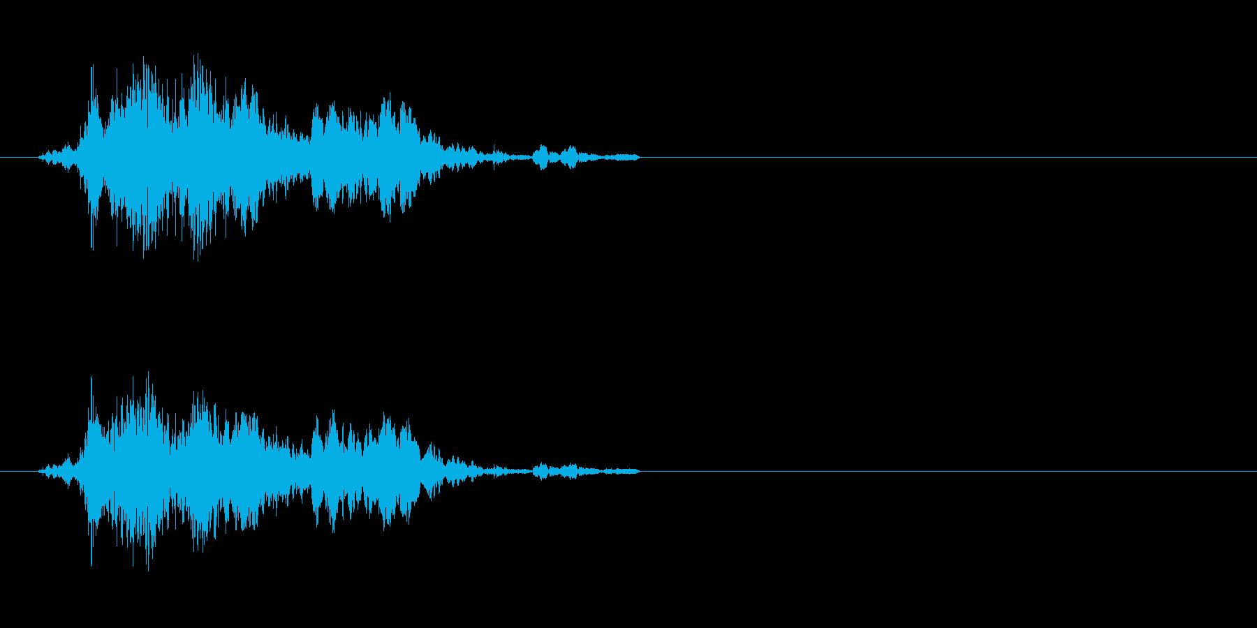コイン 4の再生済みの波形