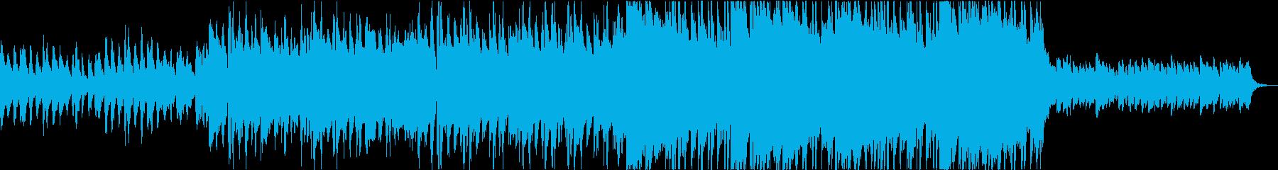 ピアノとストリングスが印象的なポップスの再生済みの波形