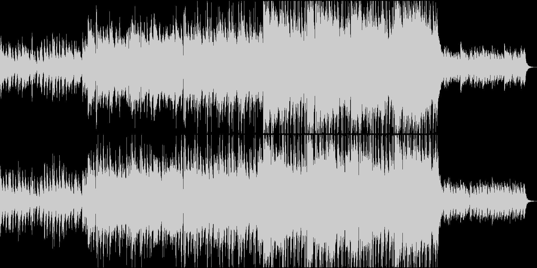 ピアノとストリングスが印象的なポップスの未再生の波形
