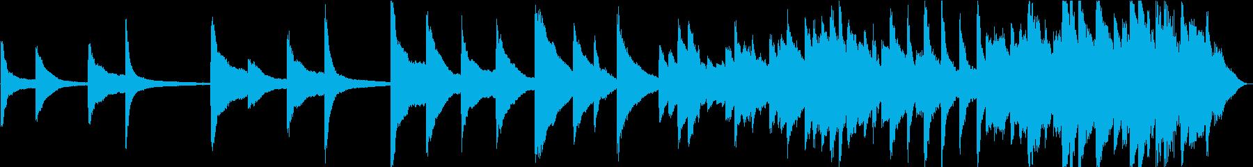 【生演奏】懐かしい雰囲気のピアノバラードの再生済みの波形