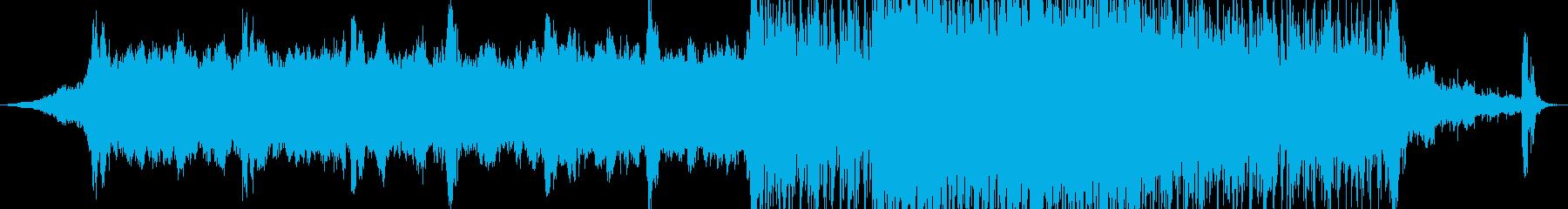 劇的 エピック オーケストラ 音楽の再生済みの波形