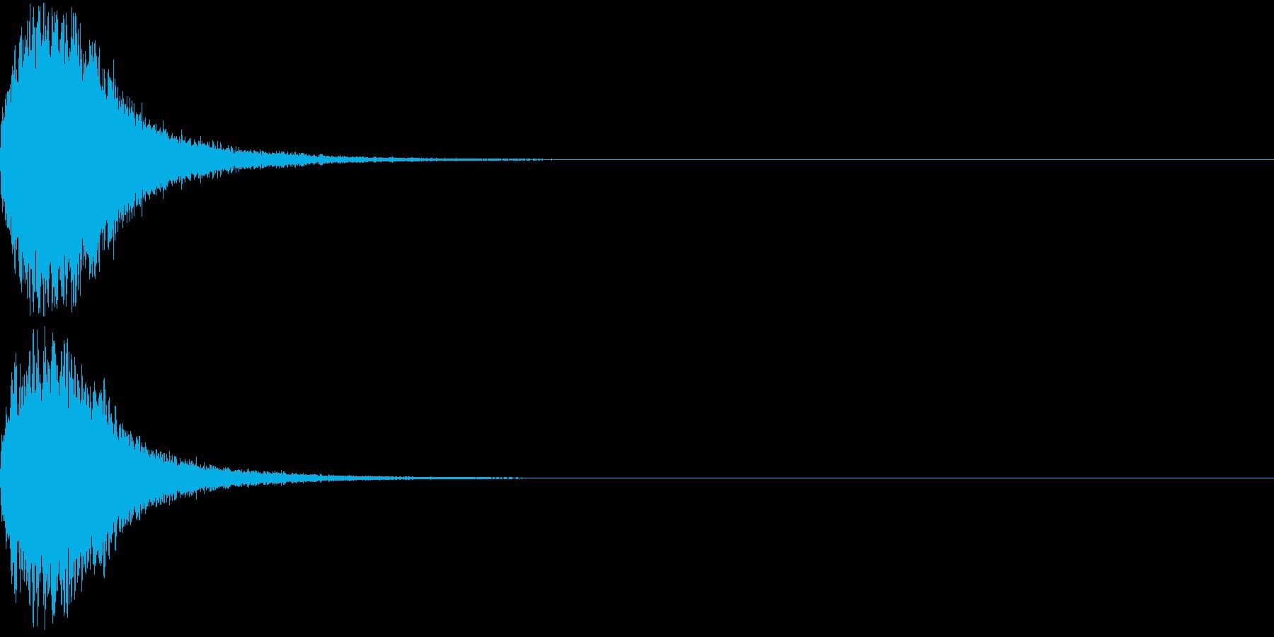 魔法 キラキラ 回復 ヒール系01の再生済みの波形