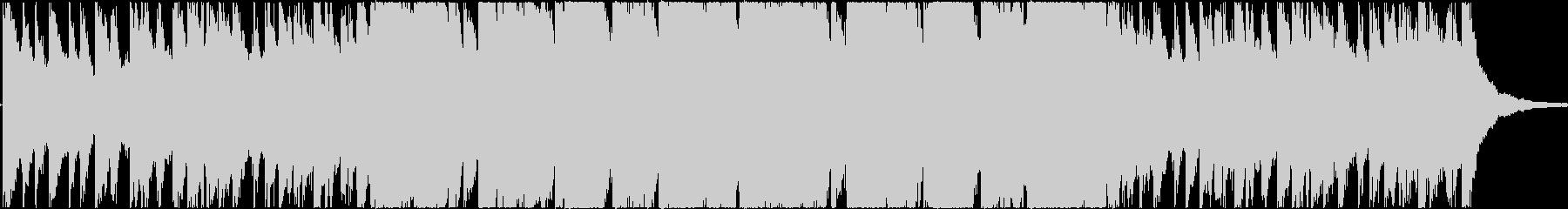 トランペットがどこか寂しいBGMの未再生の波形