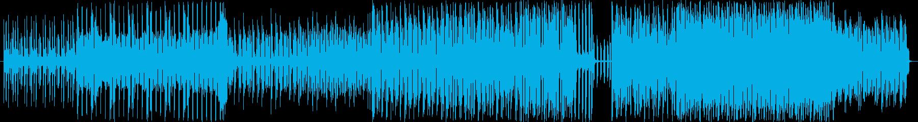 思わずリズムにのってしまうテクノの再生済みの波形
