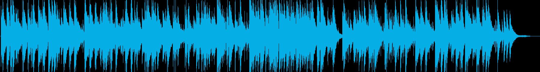 スコットランド民謡のピアノトリオの再生済みの波形