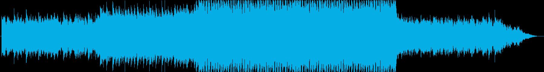 【BGM】和風FutureBassの再生済みの波形
