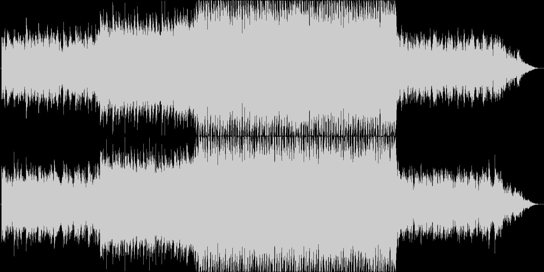 【BGM】和風FutureBassの未再生の波形