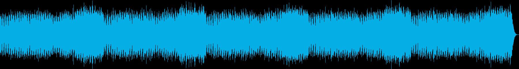 神秘的な雰囲気のチルアウトの再生済みの波形