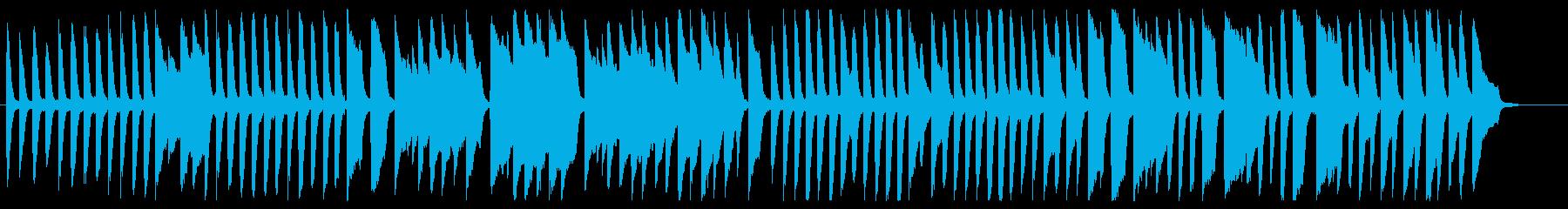 アルプス一万尺 ピアノver.の再生済みの波形