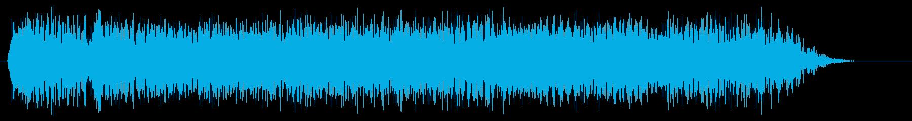 メタル クールなツインギターフレーズの再生済みの波形