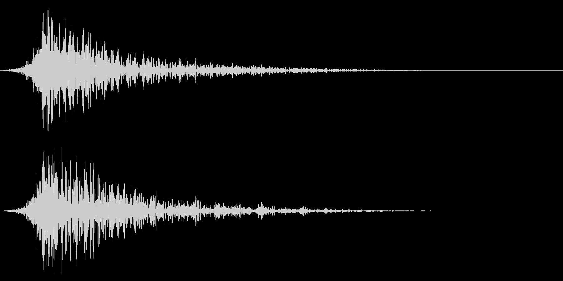シュードーン-42-1(インパクト音)の未再生の波形