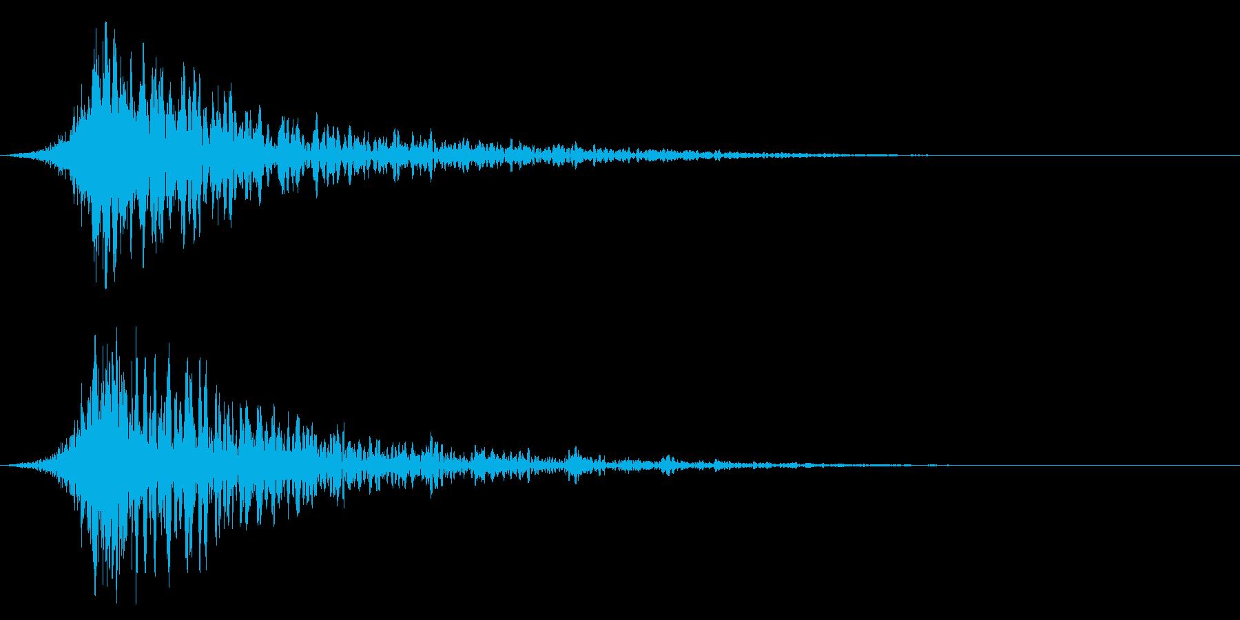 シュードーン-42-1(インパクト音)の再生済みの波形