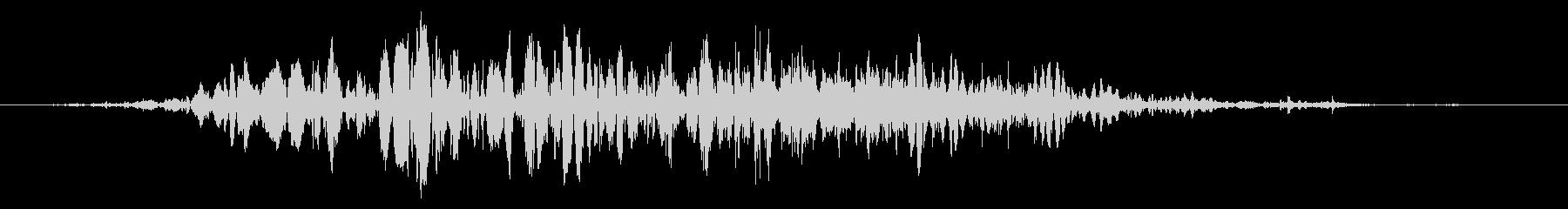 スライムなどが蠢く音 タイプB#4の未再生の波形