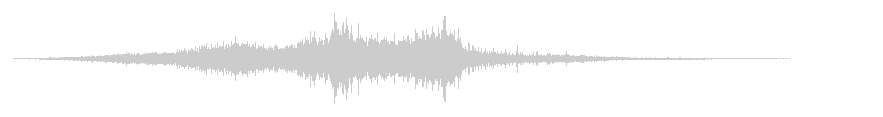 Noise sound source 21 that seems to appear in horror films's unreproduced waveform