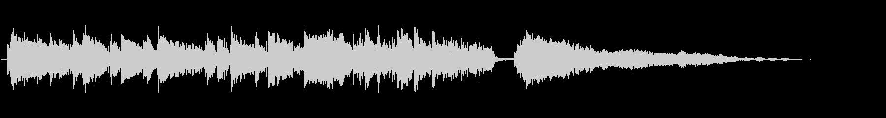 [サウンドロゴ]生演奏♫気だるいジャジーの未再生の波形
