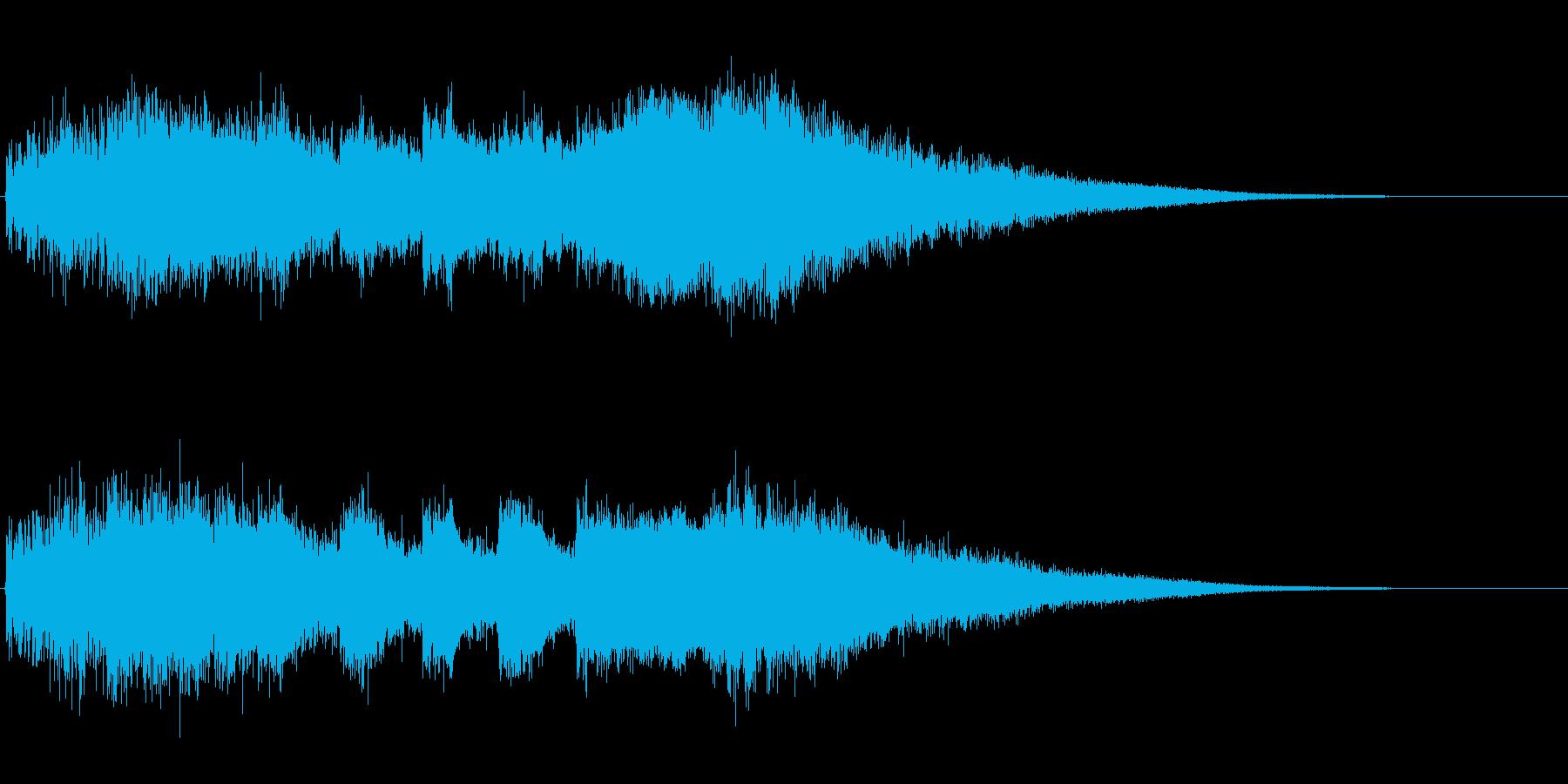 効果音。ジャーン、中国人登場。の再生済みの波形