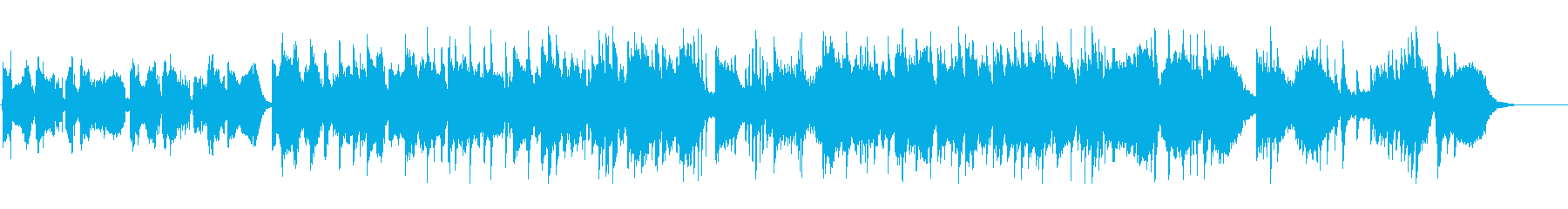 尺八による抒情的な日本音楽 Mix-Aの再生済みの波形