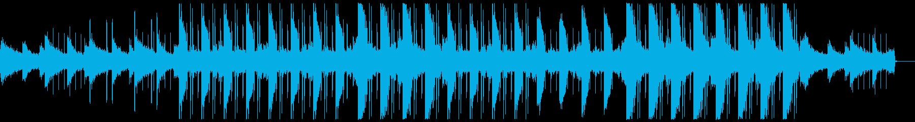 幻想的で切ないチルアウトBGMの再生済みの波形