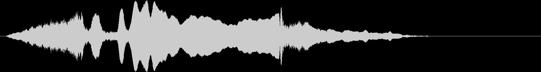 音侍SE「尺八フレーズ1」エニグマ音08の未再生の波形