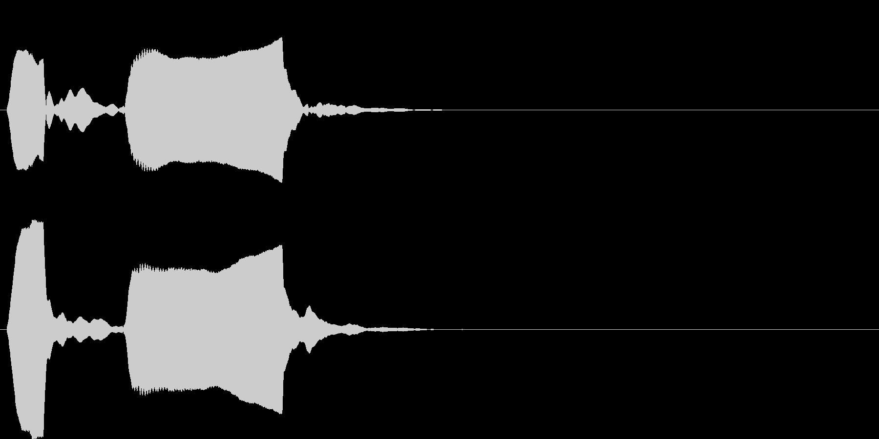 ピンポン系6 ポッポー(低)の未再生の波形
