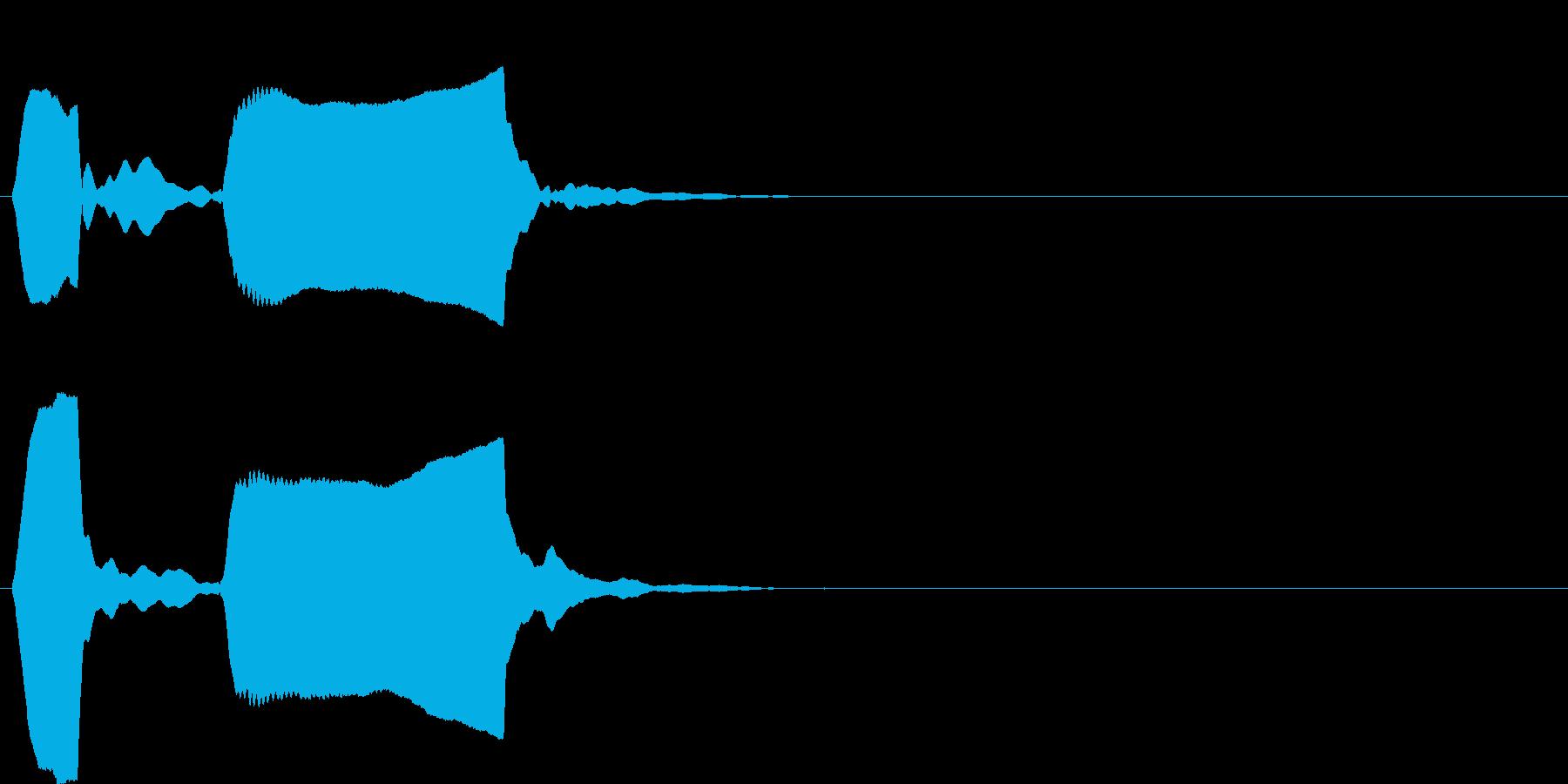 ピンポン系6 ポッポー(低)の再生済みの波形