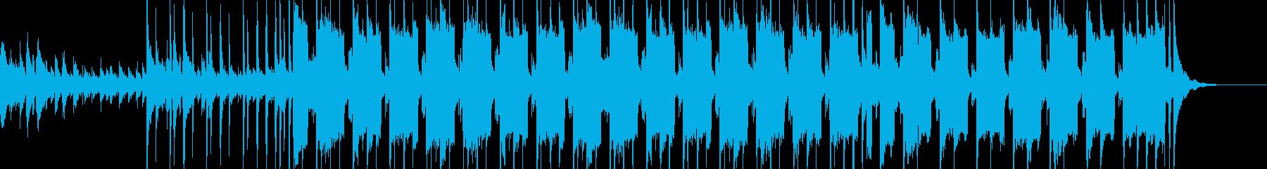 和やかなLo-Fi HipHopの再生済みの波形