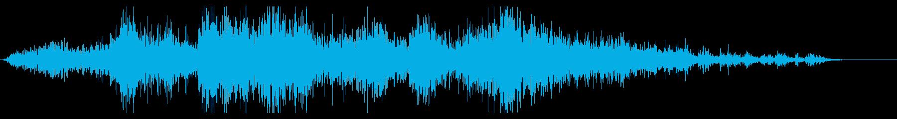 地鳴り#2「ゴゴゴ・・・」の再生済みの波形